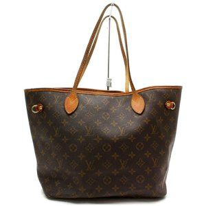 Auth Louis Vuitton Neverfull Mm Tote #4147L31